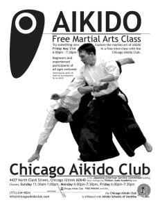 Intro Class Flyer martial