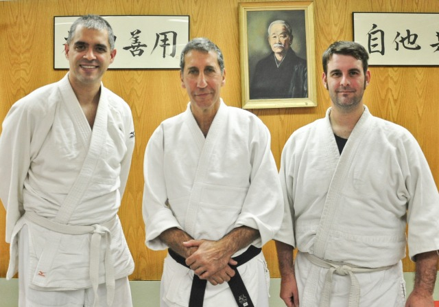 Luis, Benjamin Sensei & Ian