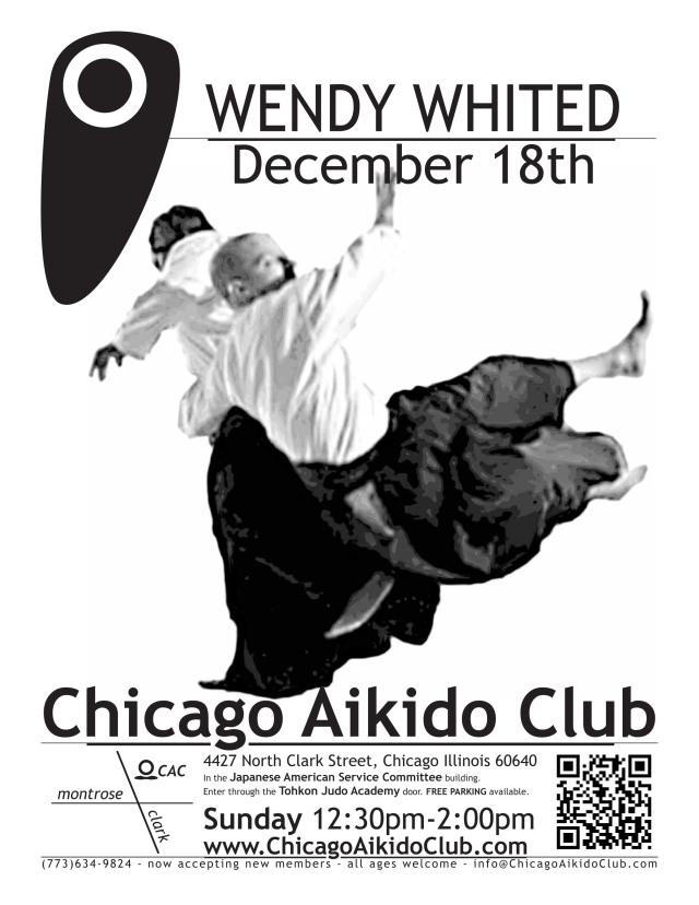 Wendy Whited Sensei at Chicago Aikido Club