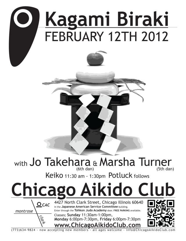 Chicago Aikido Club kagami biraki 2012