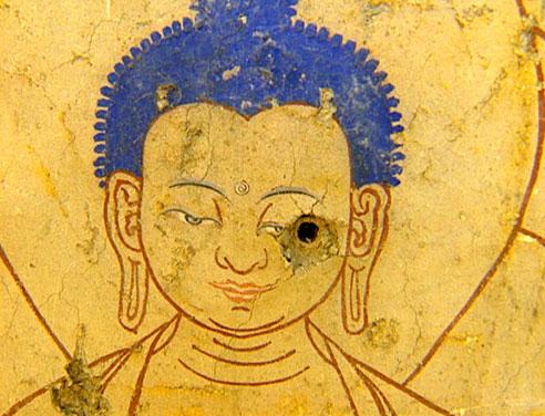 Bullet Hole Buddha