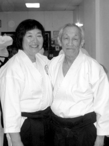Debra Mamura and Jo Takehara