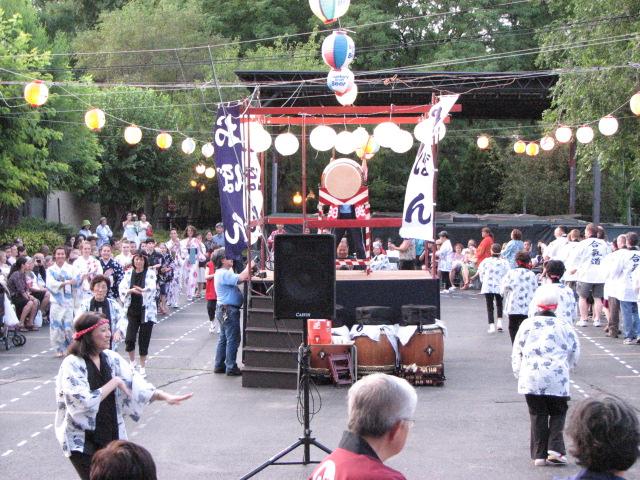 Obon Odori at the Midwest Buddhist Temple