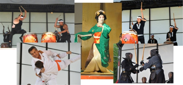 Images from the Midwest Buddhist Temple's Ginza Festival