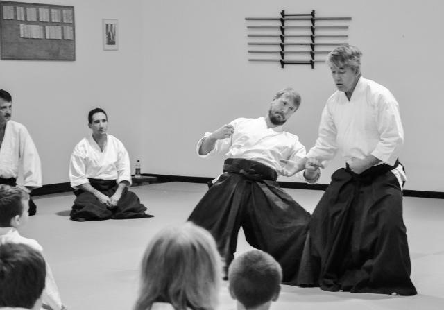 Ikeda Sensei and John Gralton
