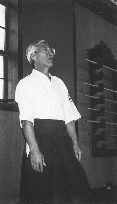 Photo of Saotome Sensei