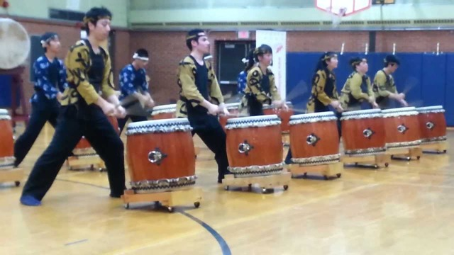 Tsukasa Taiko at Japanese American Service Committee's Holiday Delight