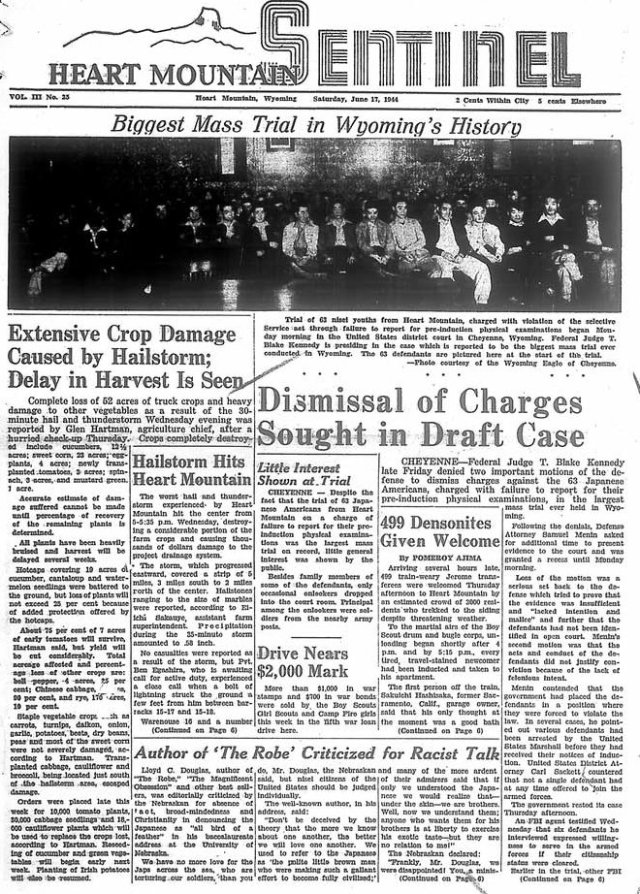 Day of Remembrance news paper
