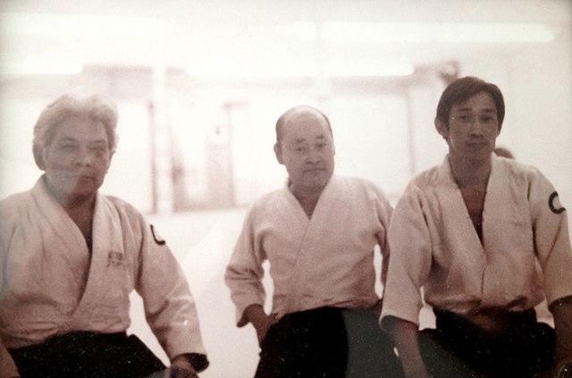 """photo of Dr. Miyagi, """"Red"""" Sakamoto, Jo Takehara"""