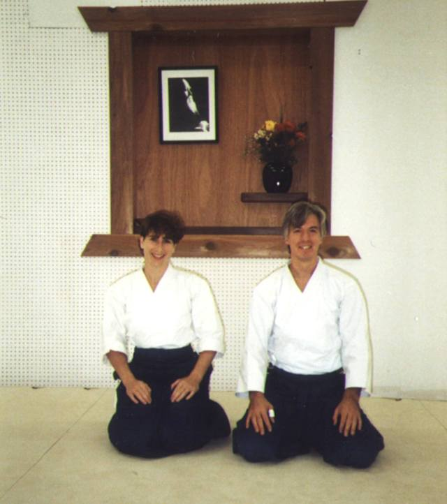Robin Cooper and John Stone, founders of Aikido of Madison