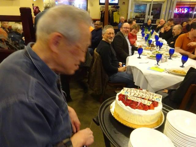 Joe and cake