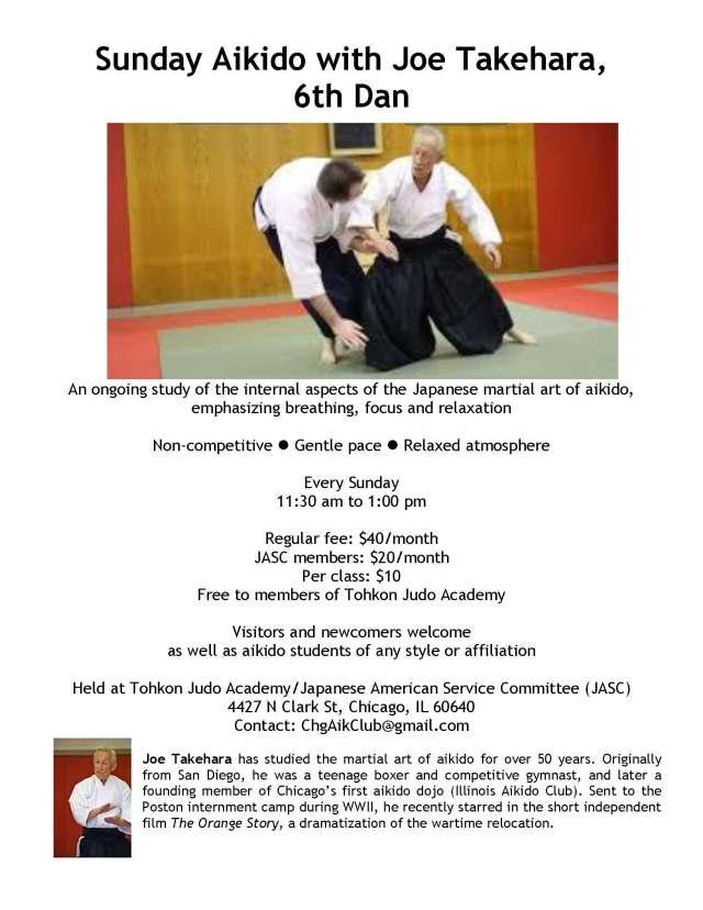 Sunday Aikido with Joe Takehara